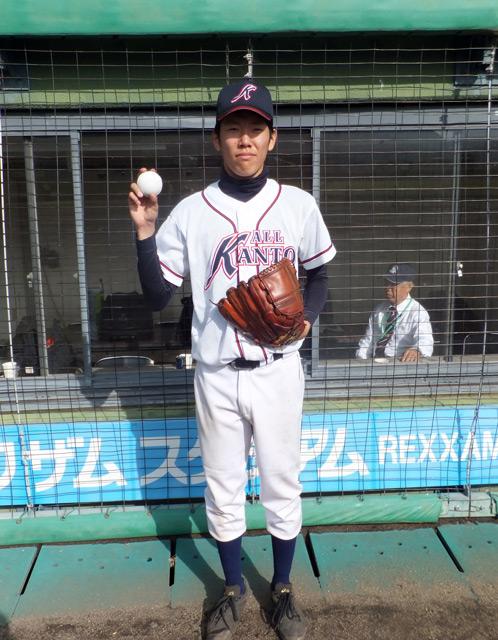 杉浦浩介選手(日大2年)